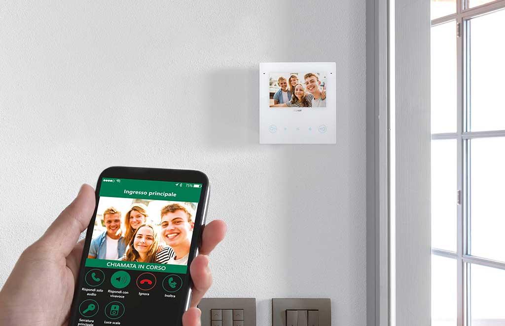 videocitofono ingresso smart