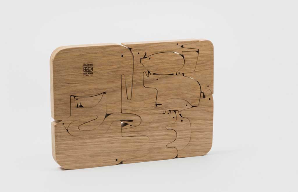 animali legno enzo mari