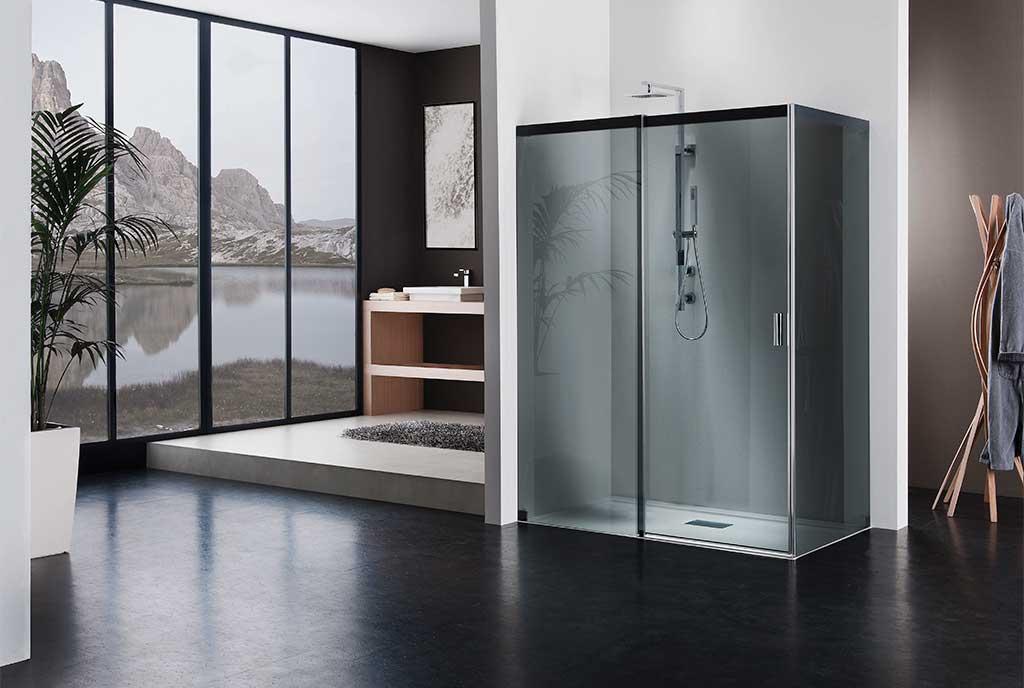cabina doccia grande