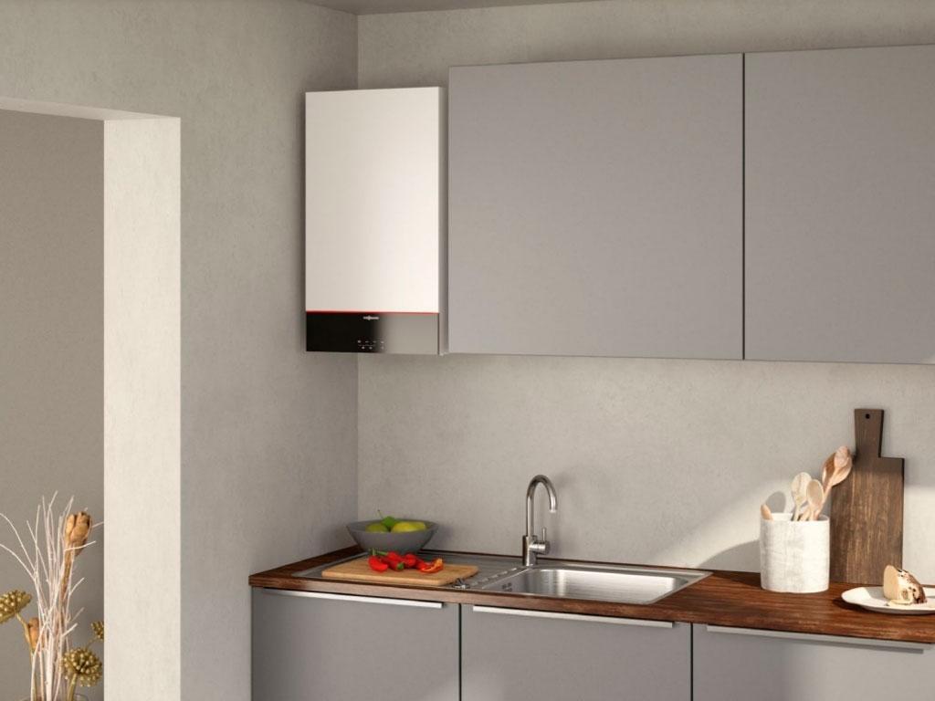 caldaia a condensazione cucina