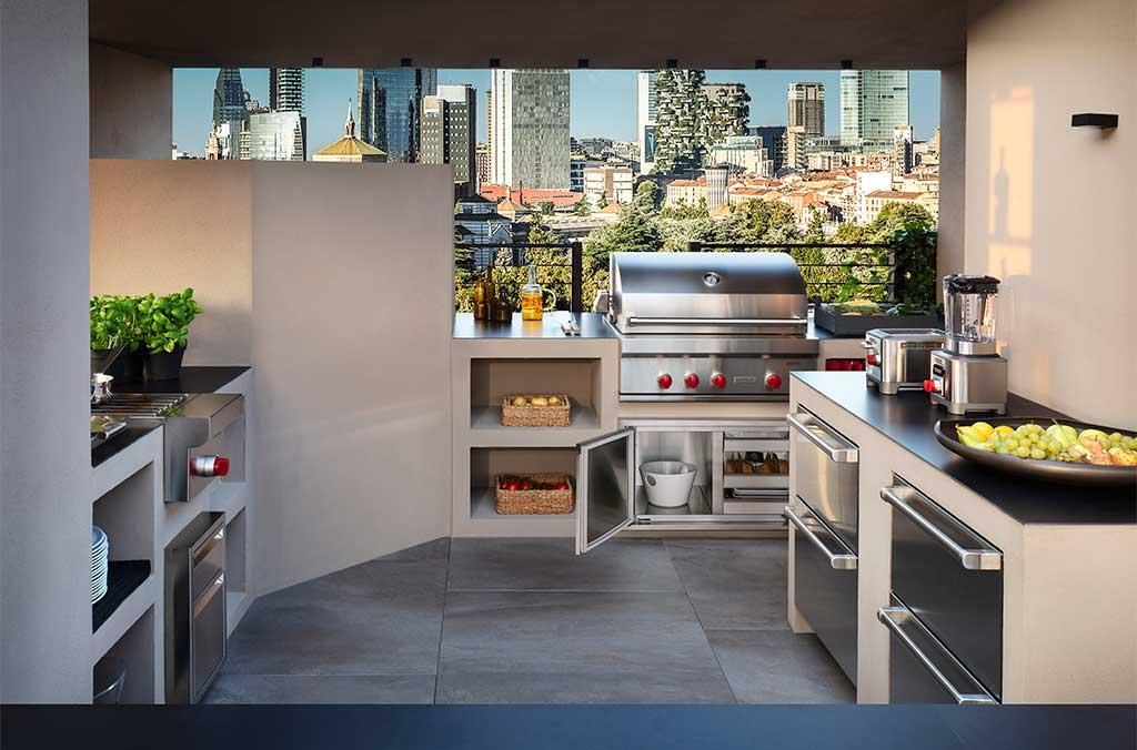 cucina completa outdoor