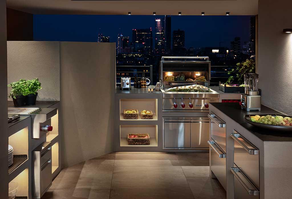 cucina terrazza