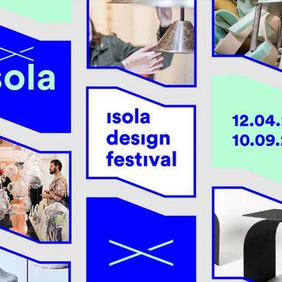 locandina isola design festival