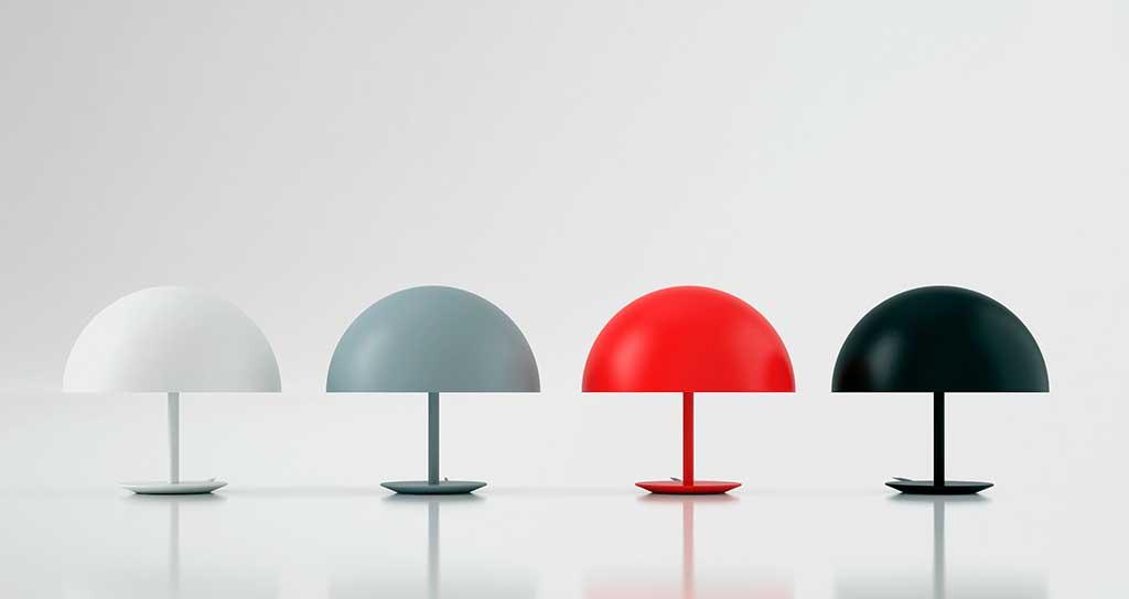 lampade cupola colorate