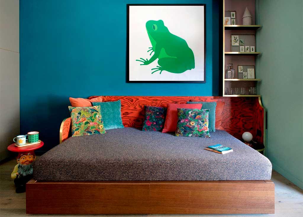 letto divano soggiorno