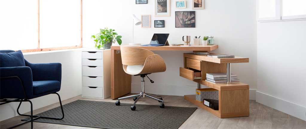 sedia girevole legno