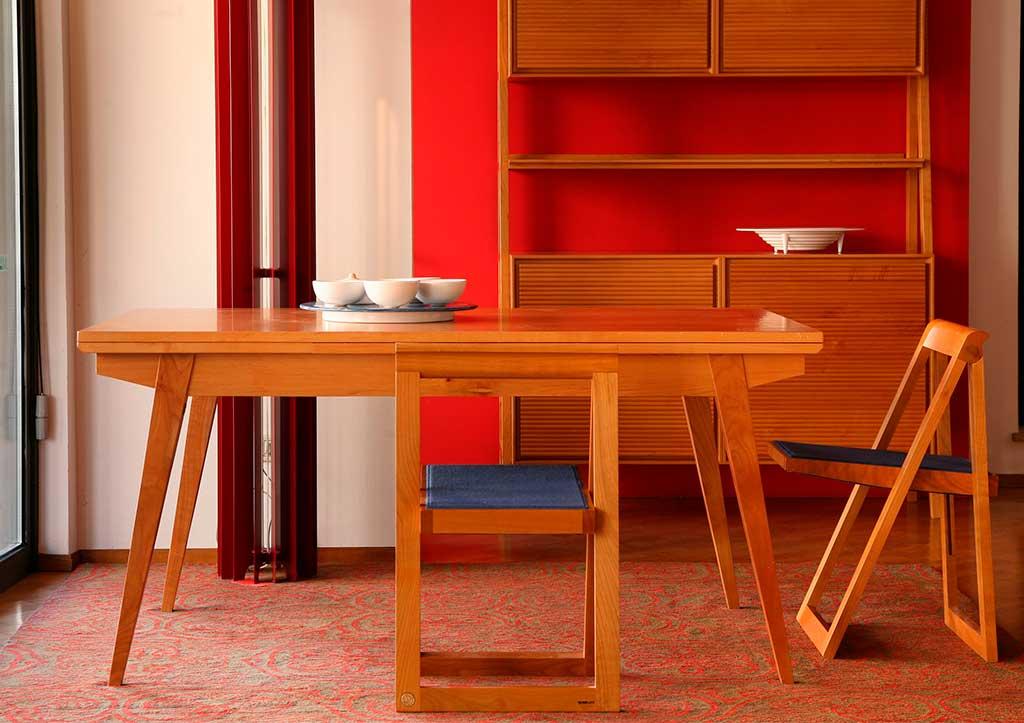sedia pieghevole legno massello
