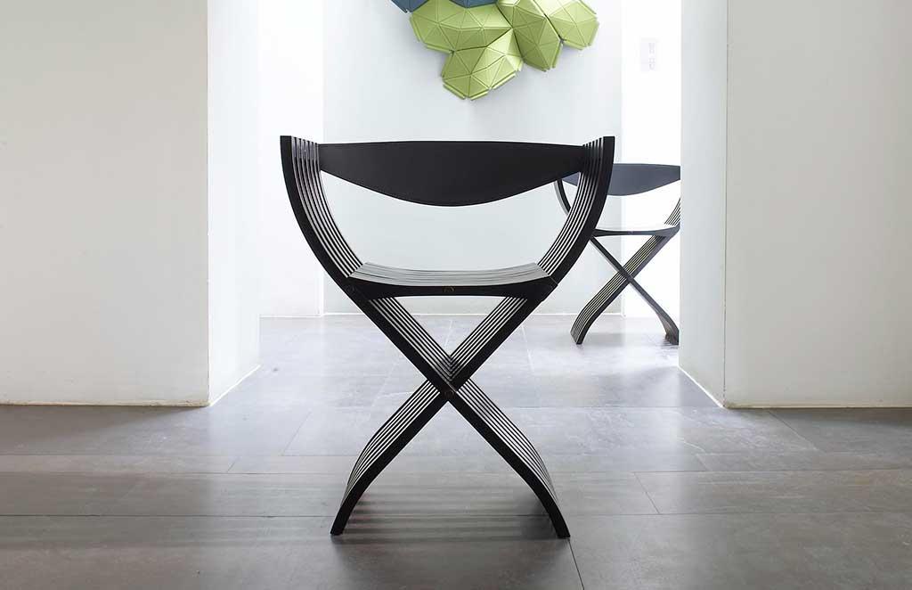 sedia pieghevole legno stile regista