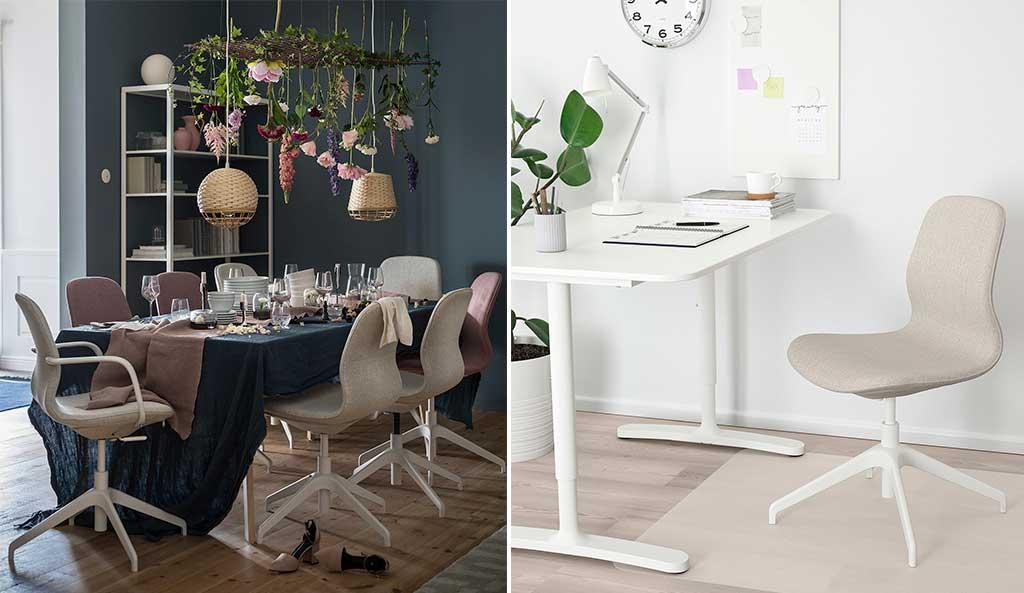 sedie ufficio tavola