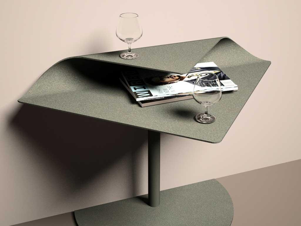 tavolino salvaspazio parete