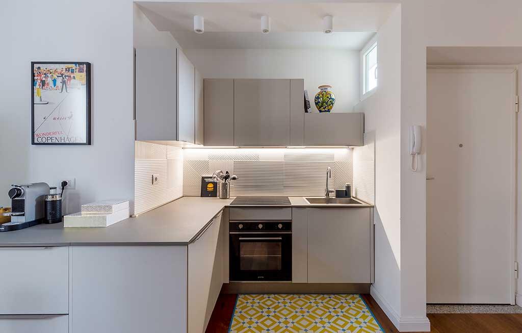 angolo cucina a vista nicchia