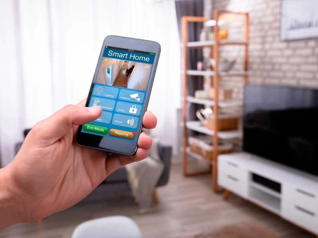 controllo smart home