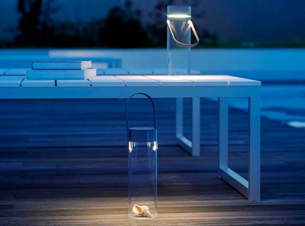lampada esterno lanterna vetro led