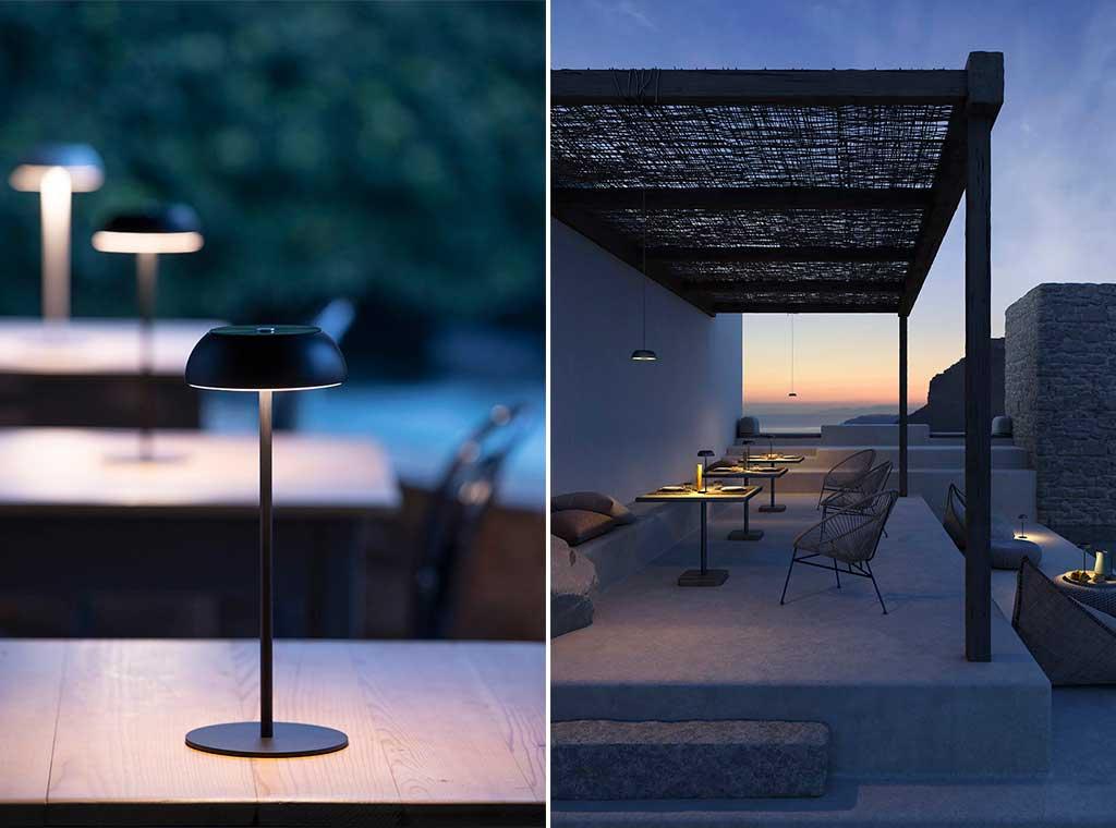 lampada tavolo per esterno