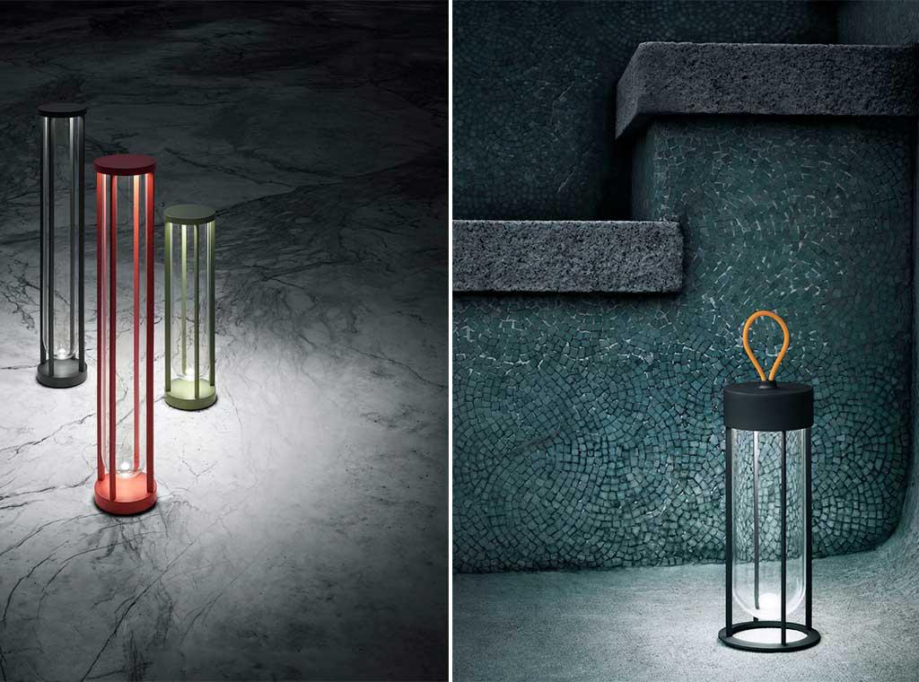 lampade esterno in vitro