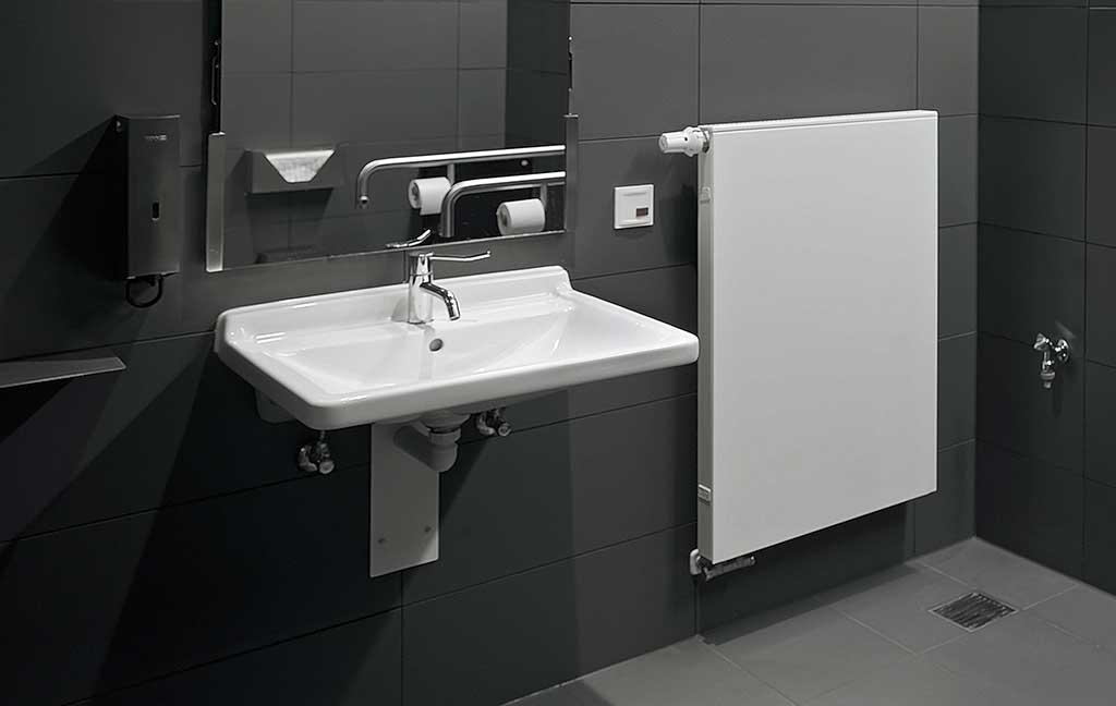 lavabo senza barriere