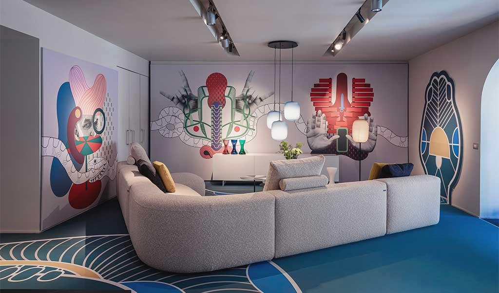 spazio cappellini divano