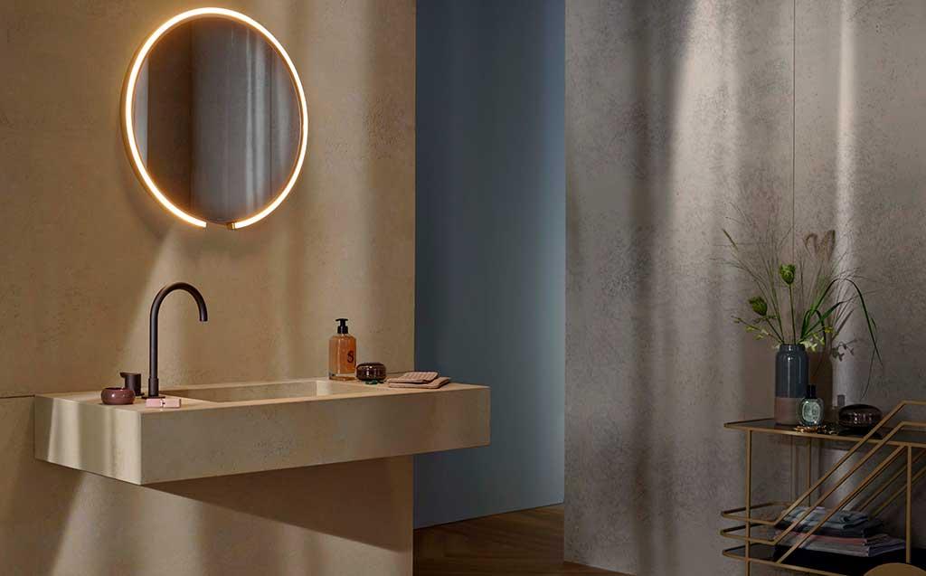 specchio bagno tondo