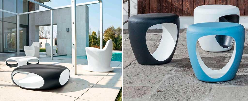 tavolini e pouf esterno