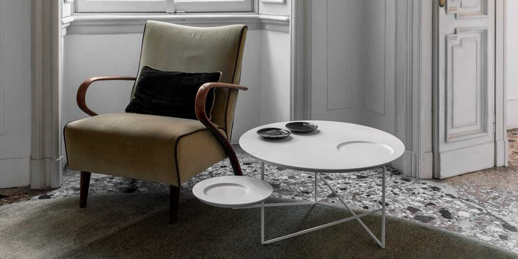 side table bianco