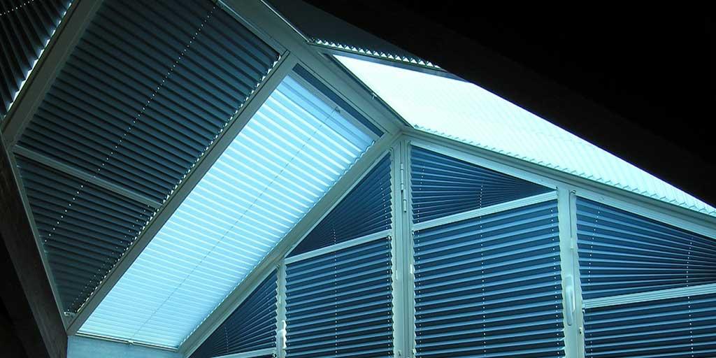 tende plissettate finestre