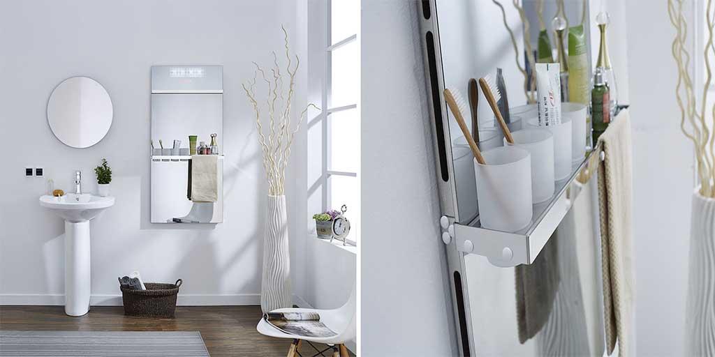 termoarredo bagno specchio
