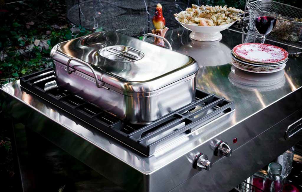 cucina esterno alpes