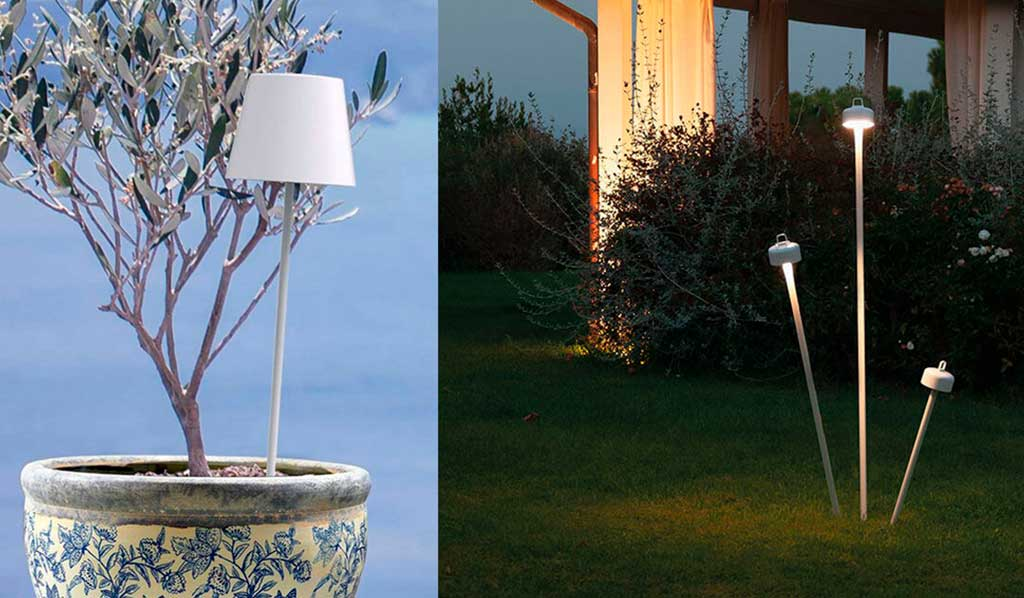 lampade ricaricabili giardino