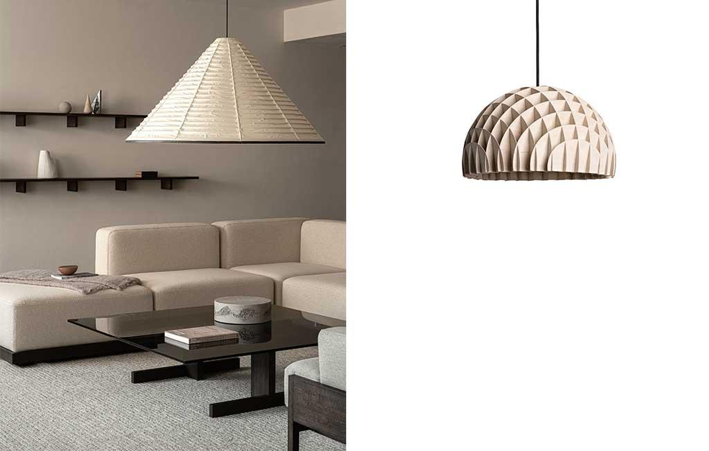 lampade sospensione design chiare