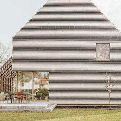 pergola house vista esterno