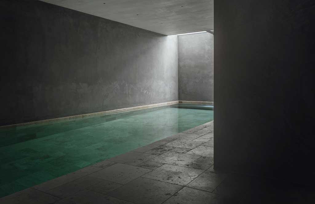 piscina pergola house
