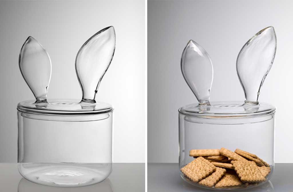 porta biscotti vetro