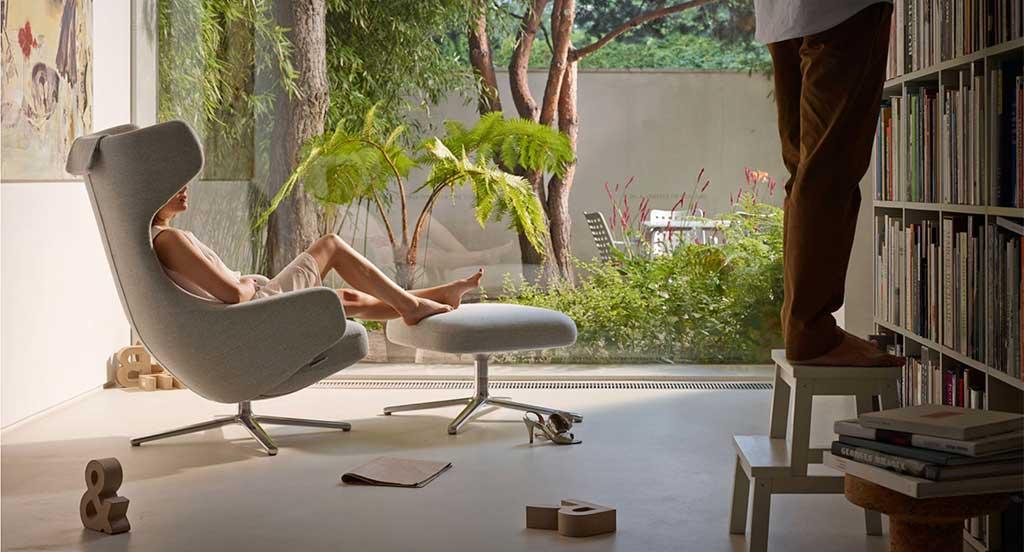 chaise longue antonio citterio