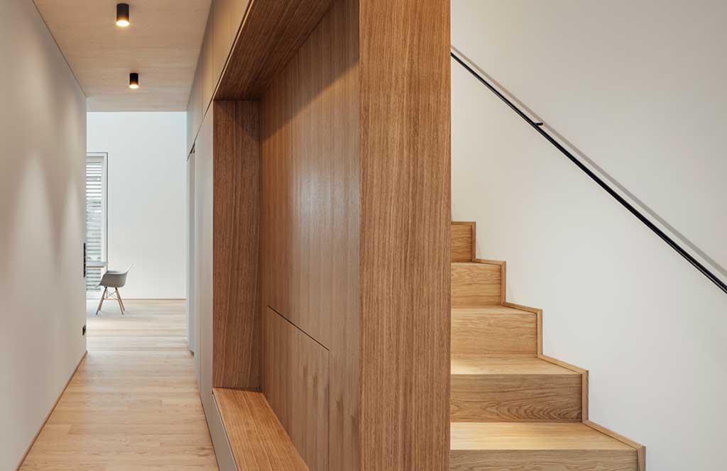 scala legno interna