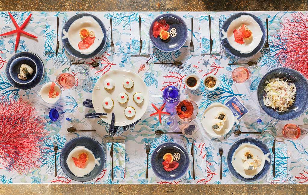 tavola stile mare