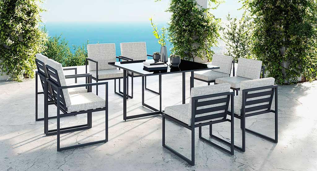 tavolo quadrato esterno