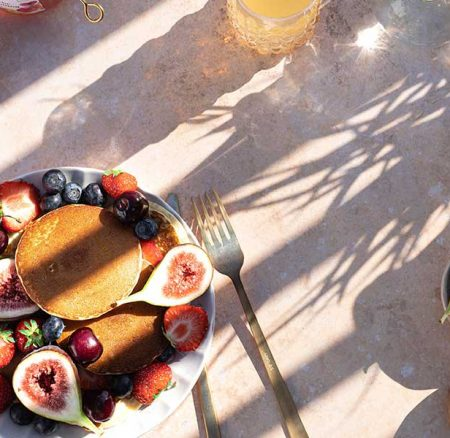 Colazione in terrazzo – un classico estivo