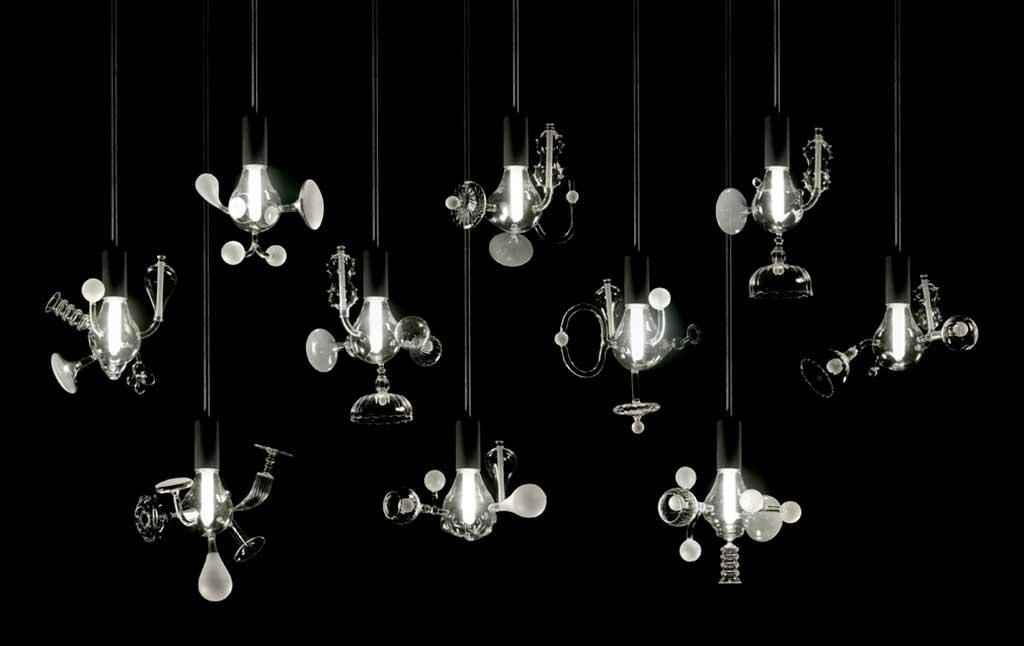 lampadine vetro soffiato