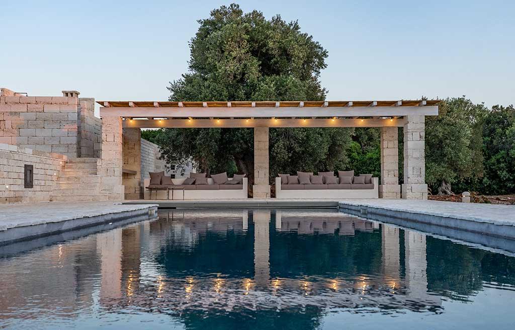 piscina muratura masseria