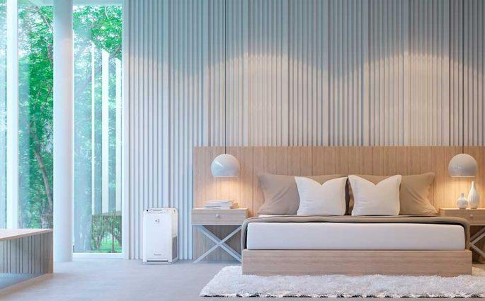 purificatore aria camera letto