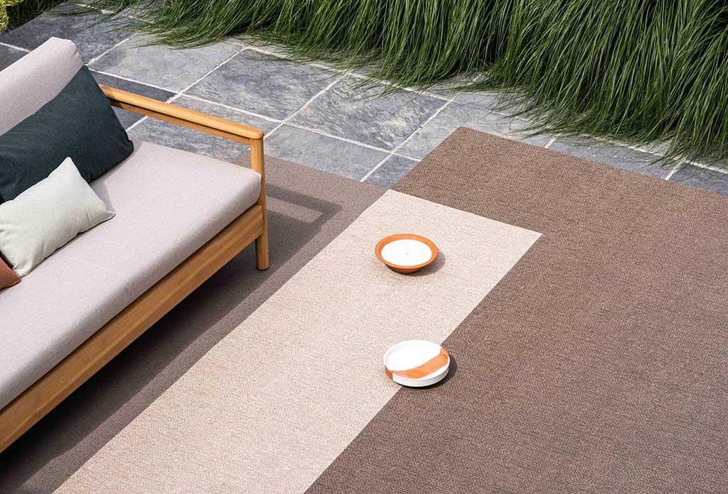 tappeti esterno doppio colore