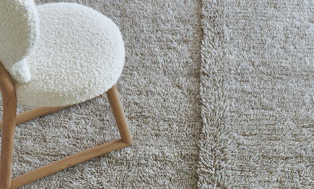 tappeto intrecciato