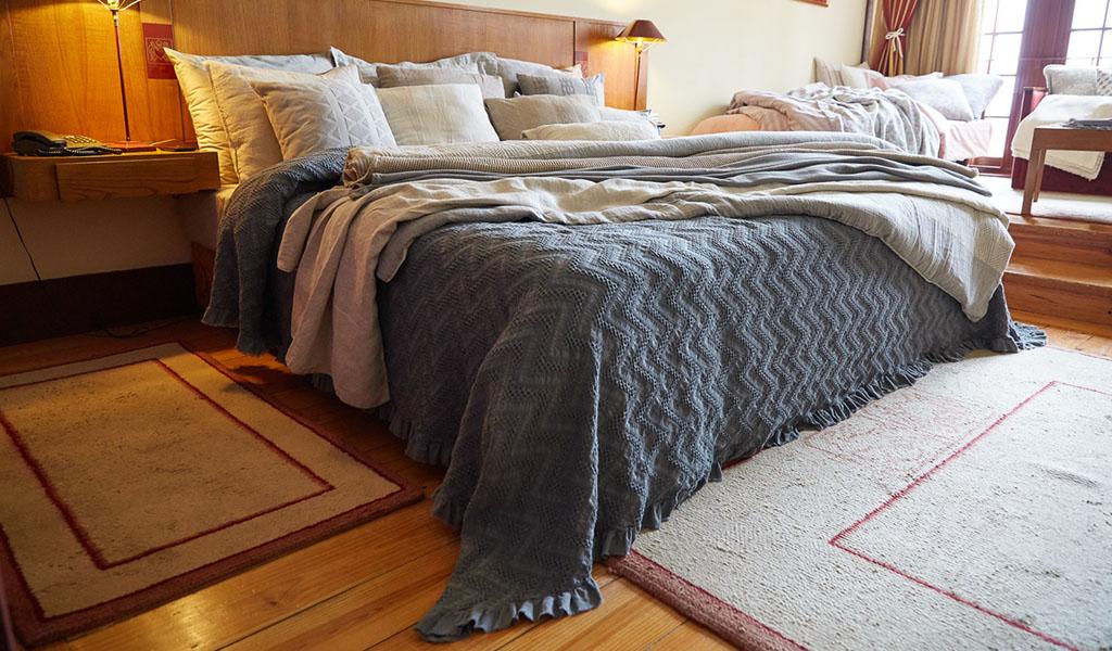 allestimento design interni camera da letto