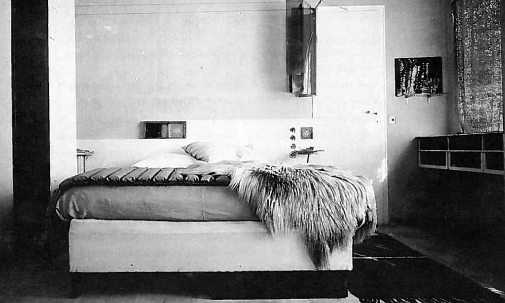 stanza letto villa eileen gray