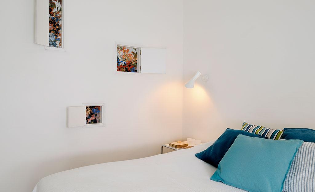 casa m roma camera letto