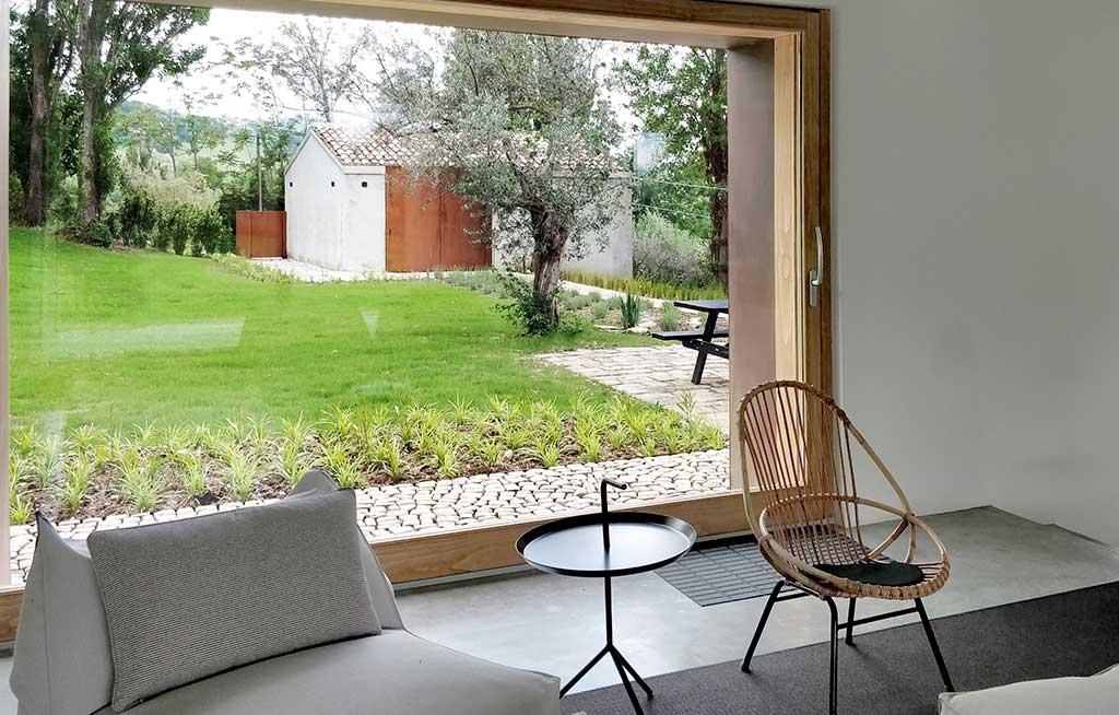 finestra living casale
