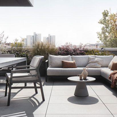 salotto outdoor terrazzo