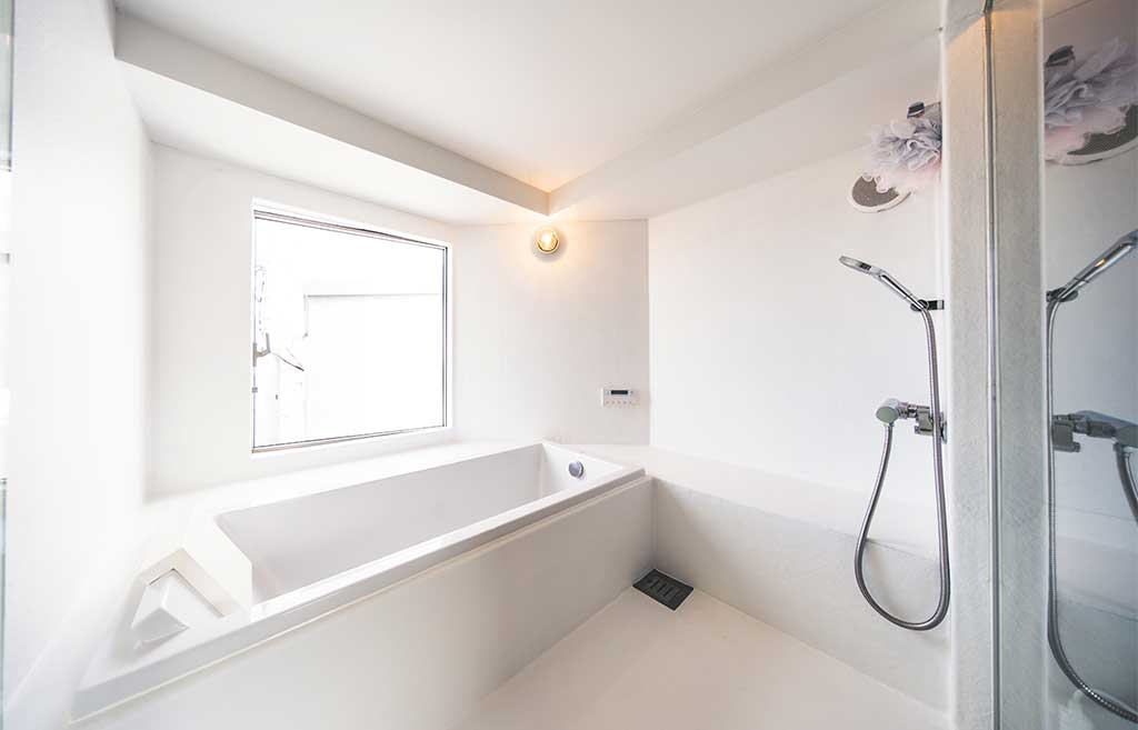 vasca bagno casa torre tokyo