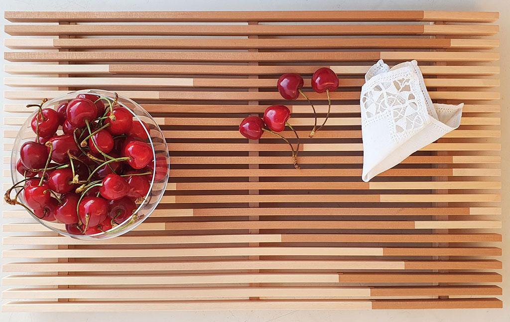 vassoio legno design