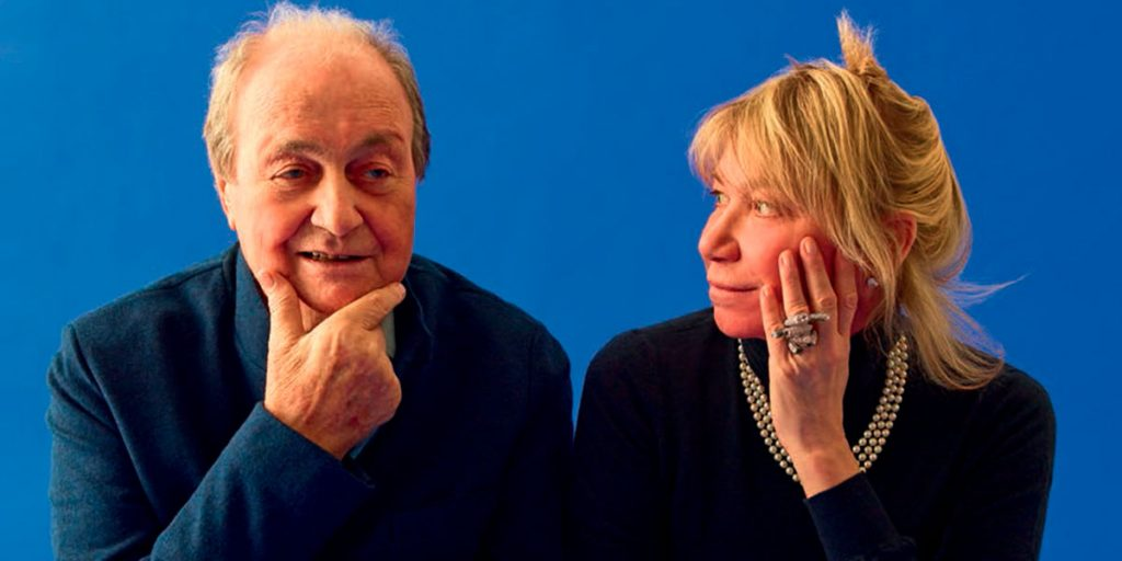 Ernesto Gismondi insieme a Carlotta de Bevilacqua